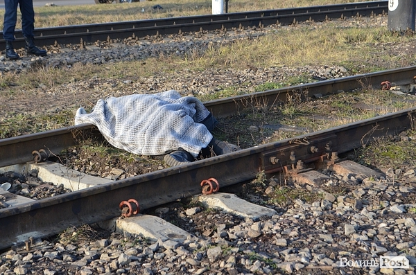 У Мукачівському районі потяг переїхав чоловіка
