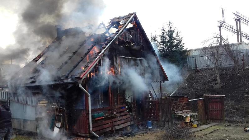У Воловці вирувала пожежа