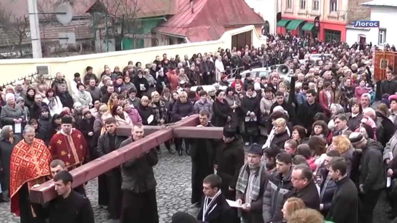"""Сьогодні греко-католики пройдуть """"Хресну дорогу"""" вулицями Ужгорода"""