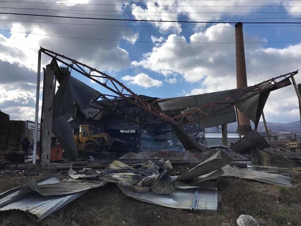 Після візиту Михайла Саакашвілі до Сваляви місцевому активісту Руху нових сил спалили підприємство