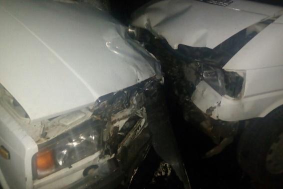 На Мукачівщині зіткнулися два автомобілі: водій одного із них була п'яна