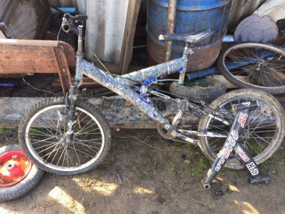 Восьмикласник украв велосипед, який припав йому до душі ще на Різдво