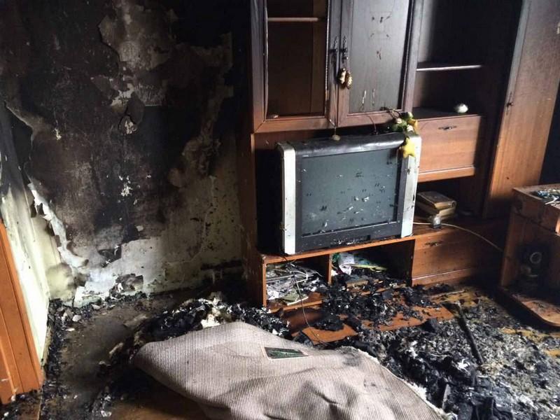 В Ужгороді горіла квартира