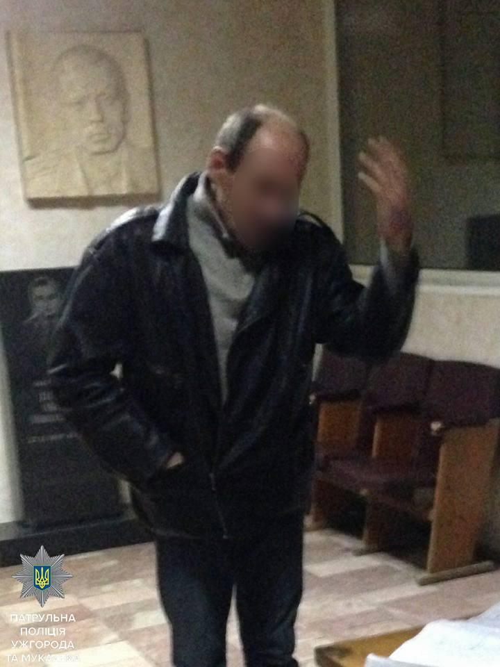 В Ужгороді поліцейські швидко розшукали чоловіка, який вчинив бійку та втік