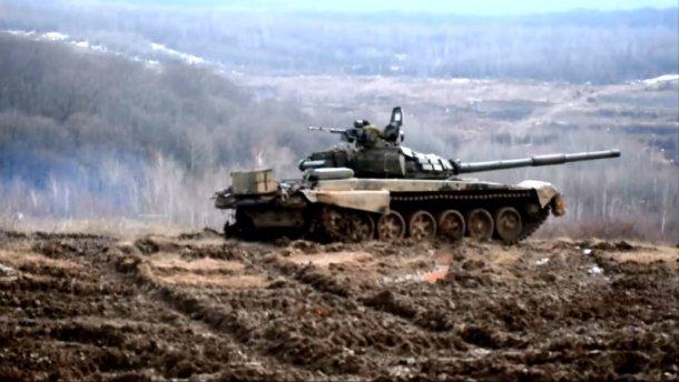 Танкові навчання на Закарпатті: опубліковано видовищне відео