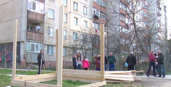 Ужгородці протестують проти встановлення МАФу