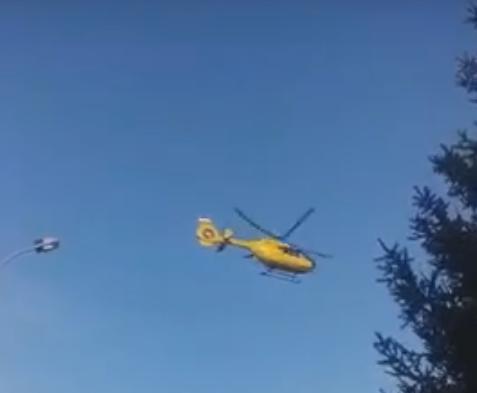 В Угорщину гелікоптер відправив двох осіб, які постраждали у резонансній ДТП на Виноградівщині