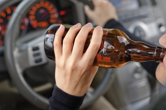 Погоня за п'яним водієм та інші випадки затримання нетверезих водіїв за вихідні