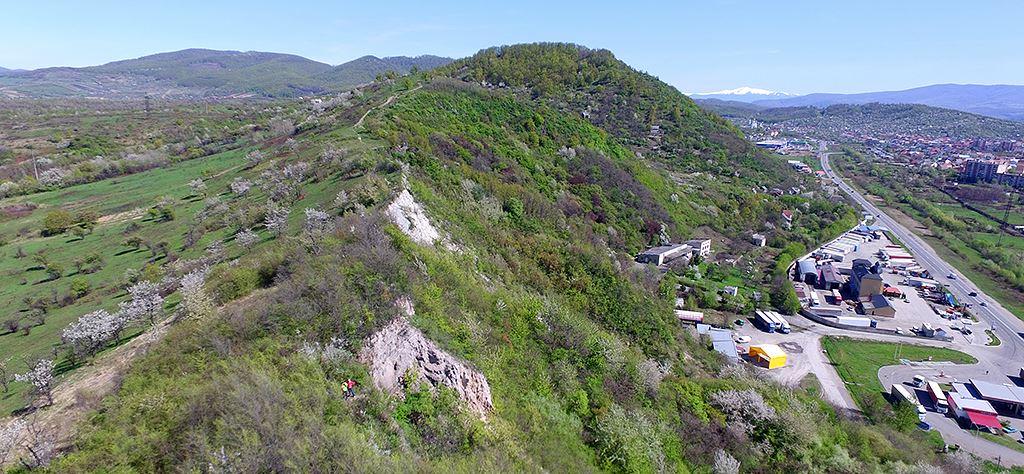 Кельтський погляд на Мукачево: у мережі показали вид на місто з гори Галіш-Ловачка