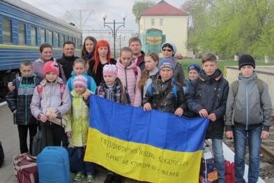 Діти з Луганщини святкуватимуть Великдень на Закарпатті