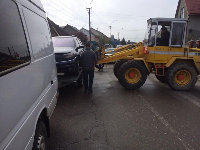 ДТП у Виноградові: водій заснув за кермом
