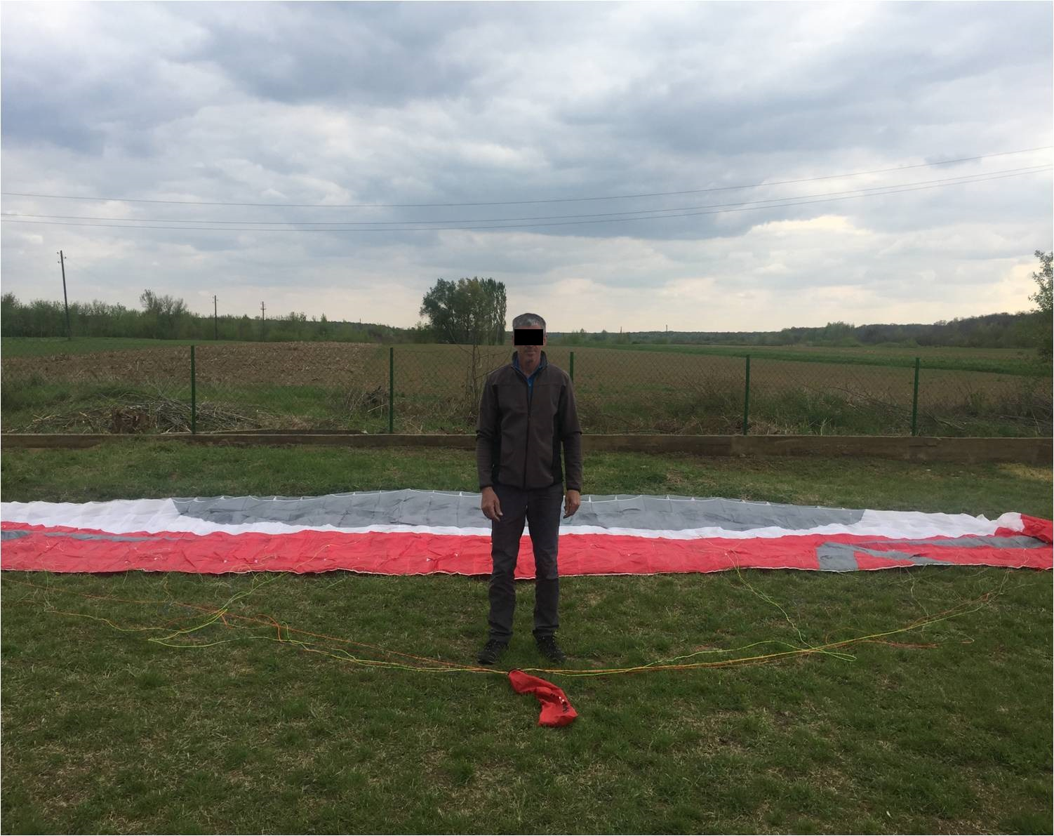 Закарпатські прикордонники затримали парашутиста, який перетнув україно-угорський кордон