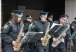 Як в Ужгороді духові оркестри поліції виступали