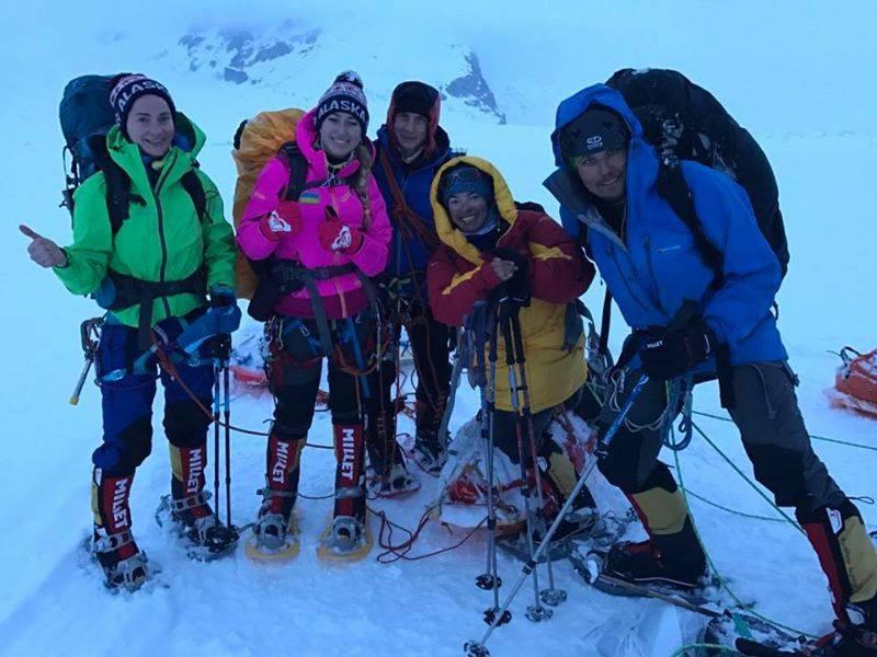 Мукачівка Ірина Галай підкорила найвищу гору Північної Америки