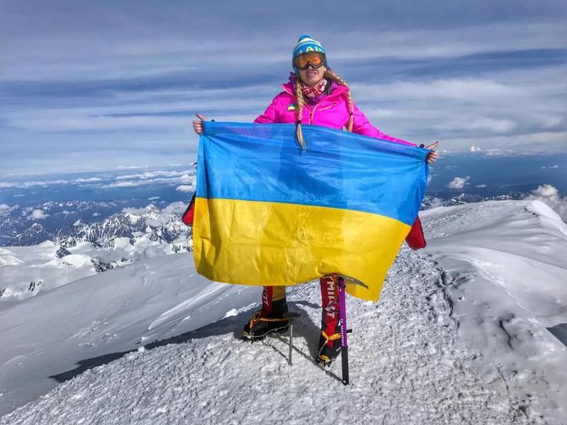 Мукачівка Ірина Галай розповіла, як підкорювала вершину Північної Америки