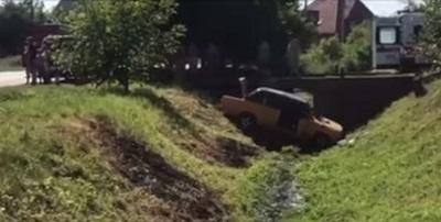 У Виноградові сталась ДТП: автомобіль