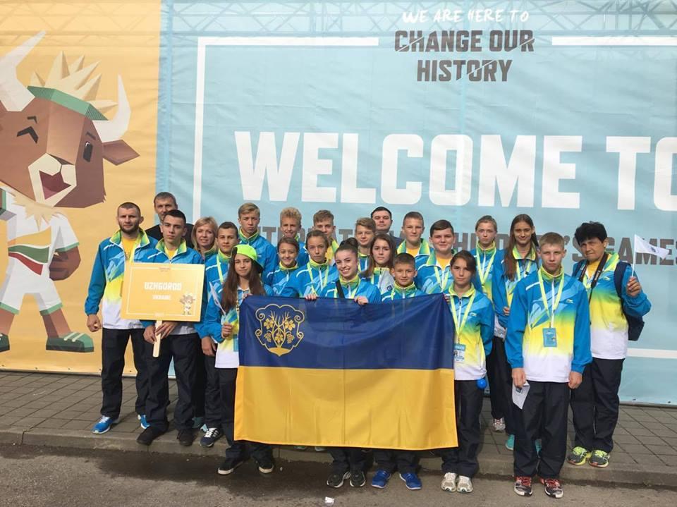Юні ужгородці взяли участь у Міжнародних дитячих іграх у Литві