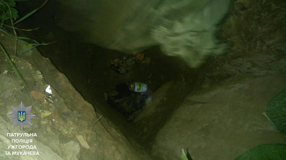 В Ужгороді жінка впала в яму