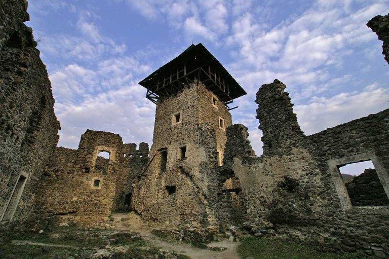 В мережі показали Невицький замок з висоти пташиного польоту (ВІДЕО)