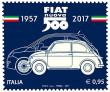 В Туріні була представлена пам'ятна марка, присвячена Fiat 500