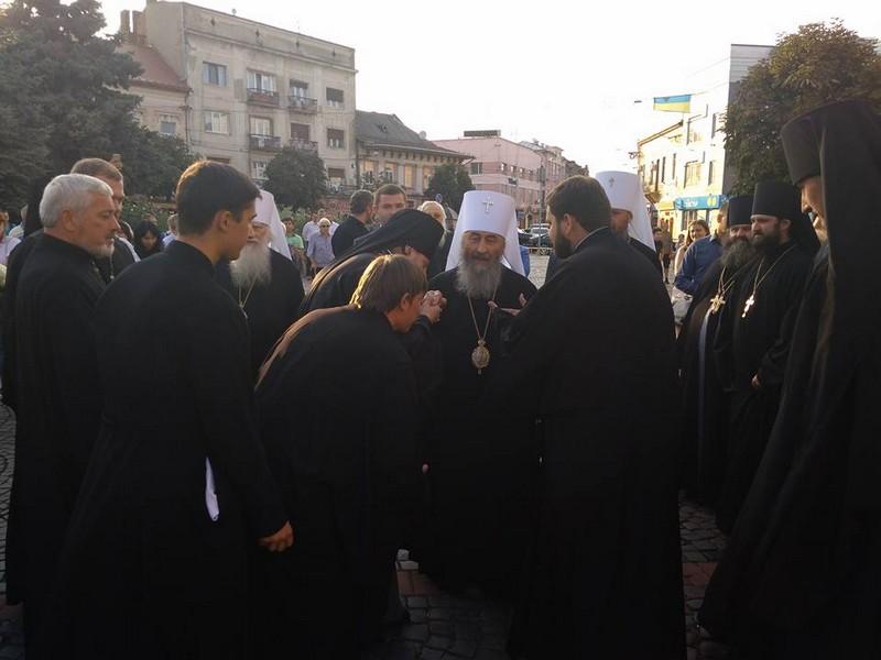 Блаженніший Онуфрій відвідав Мукачево