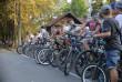 Миттєвості велозаїзду у Мукачеві: фоторепортаж із