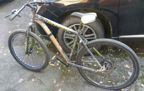 Чоловік зустрів незнайомця, який катався на вкраденому у нього велосипеді