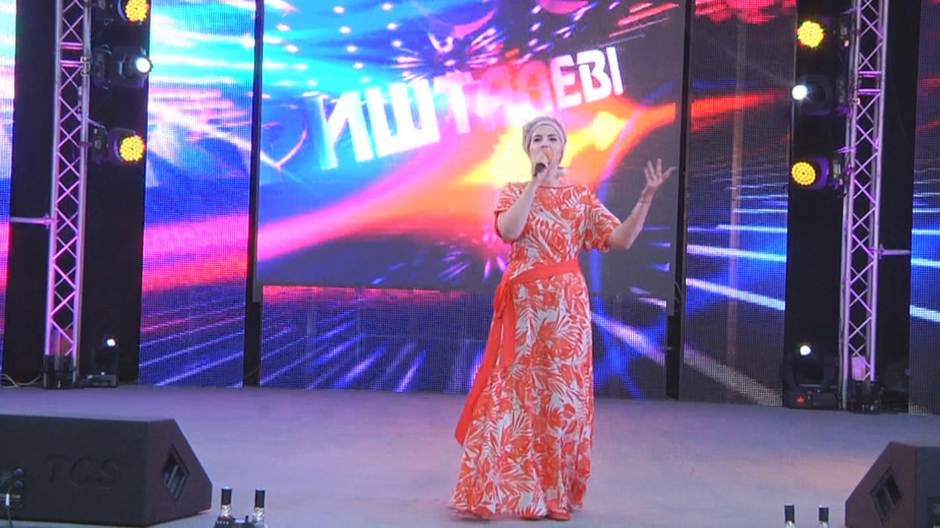 У Виноградові стартував фестиваль пісні й танцю «Кришталеві грона»
