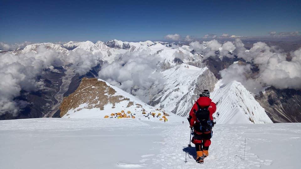 Альпініст із Рахова Ярослав Носа, попри обмороження ніг, здолав восьмитисячник у Гімалаях