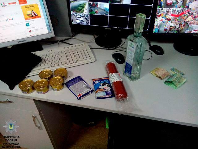 В одному з супермаркетів Мукачева вчинили злочин