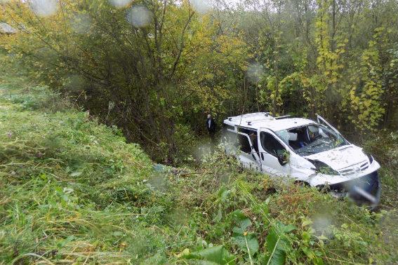 У жахливій аварії постраждало п'ятеро дітей