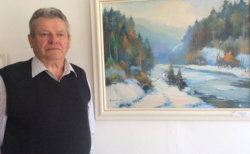 Талановитий художник із Мукачева: життя і творчість Івана Романюка