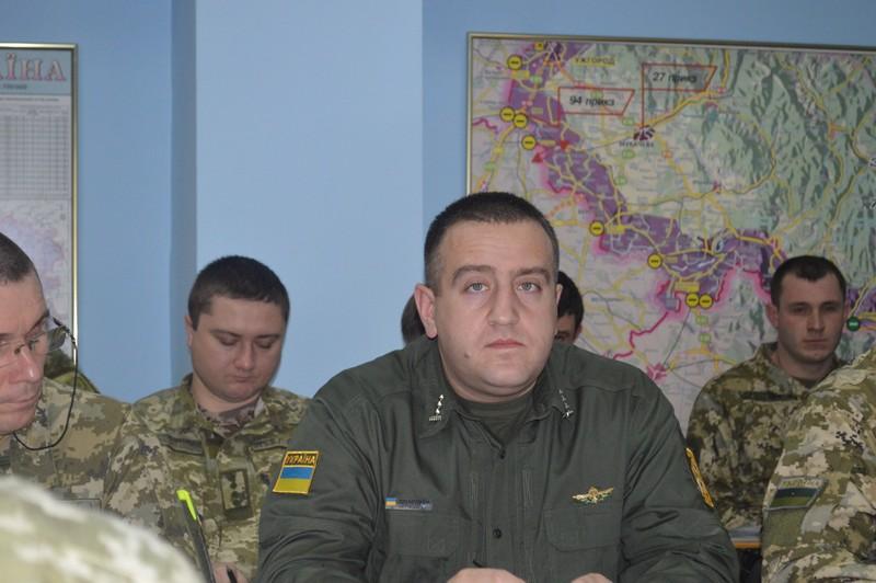 Мукачівському прикордонному загону представили нового начальника