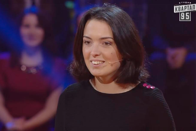 Закарпатка Валерія Мандзюк розсмішила Зеленського та Кошового на 50 тисяч гривень