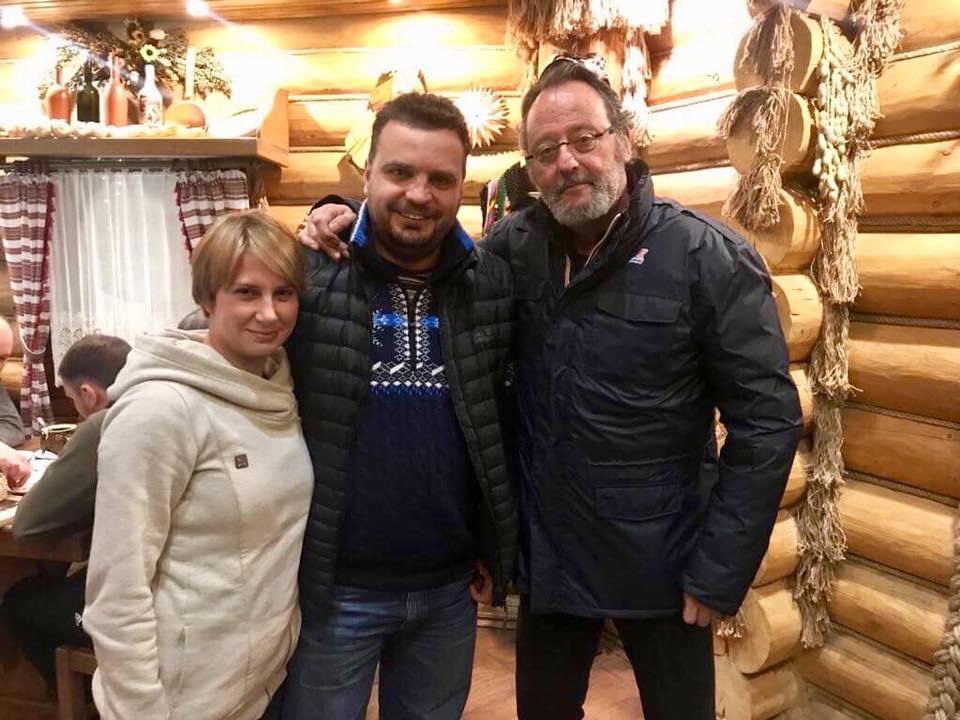 Жан Рено прибув назйомки українського фільму