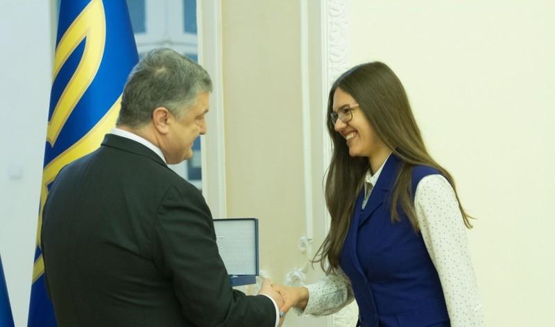 Дівчина з Мукачева стала лауреатом премії Президента України для молодих учених