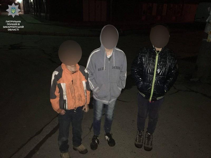Вночі в Мукачеві зникло кілька дітей