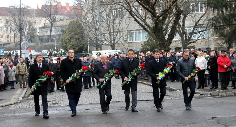На Закарпаття приїхали голови Полтавської та Львівської облрад