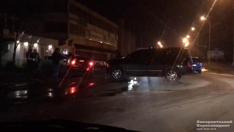 ДТП в Ужгороді: зіткнулися дві машини