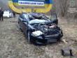 Водій на своїй автівці в'їхав у стелу, що розмежовує Воловецький та Свалявський райони