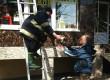 В Ужгороді чоловік викликав рятувальників, аби ті зняли з даху магазину двох його котиків