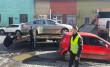 Як у Мукачеві машини евакуйовували
