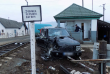 У Великій Копані автомобіль «Land Rover» зіткнувся з потягом