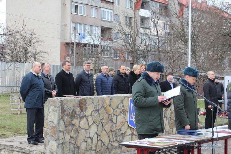 Як в області відзначали четверту річницю з дня створення Нацгвардії України