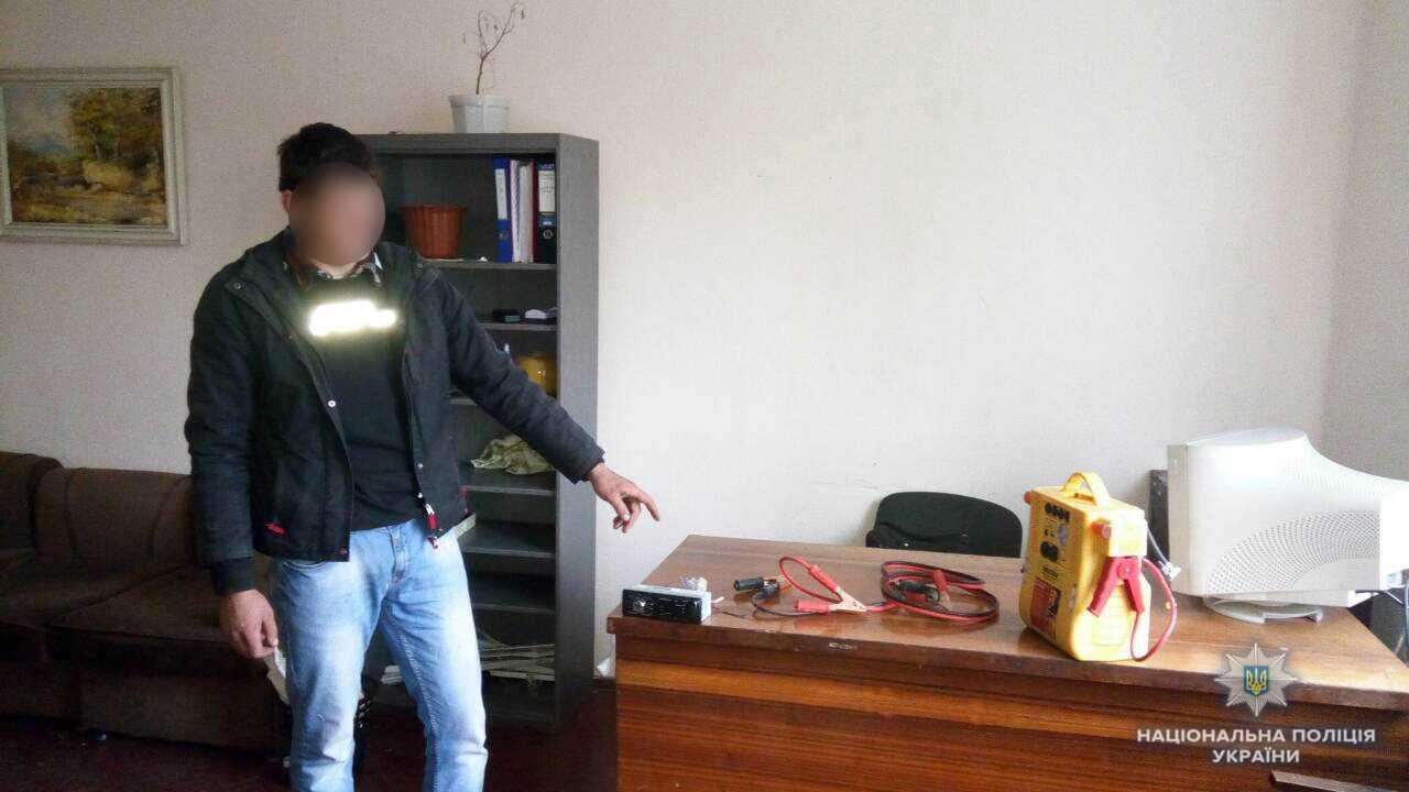 На Хустщині поліцейські затримали автокрадія