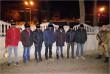 Вночі в Ужгороді затримали 7 чоловіків