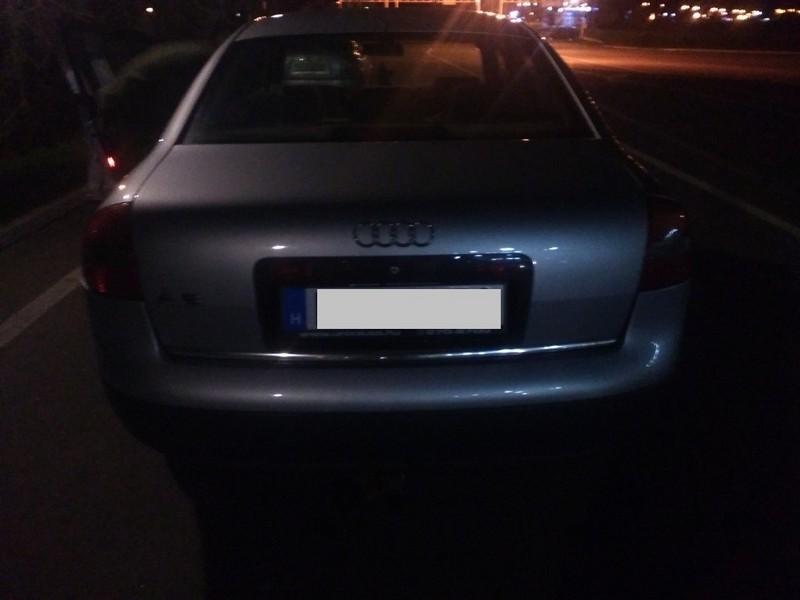 Викрадену в Росії машину знайшли на Закарпатті