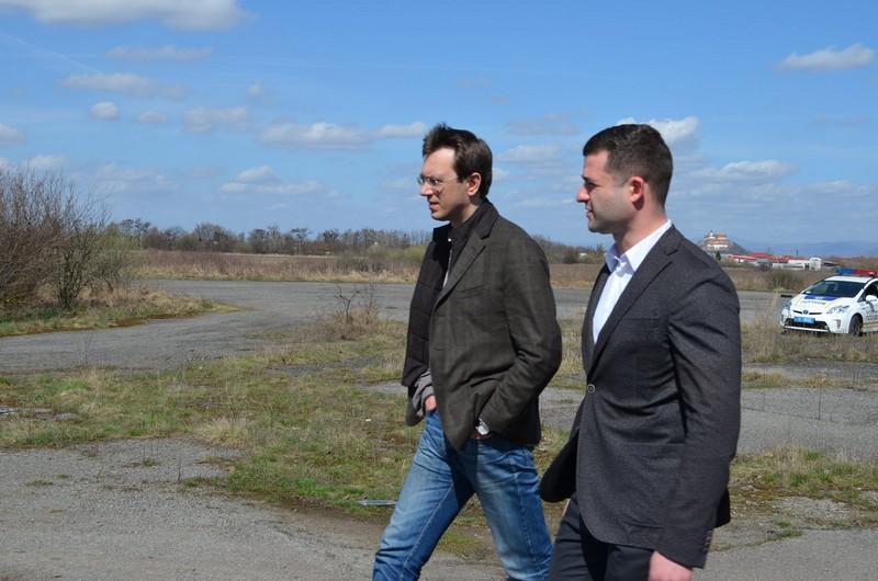 Міністр інфраструктури сьогодні побував у Мукачеві