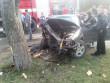 ДТП на Закарпатті: рятувальникам довелося визволяти пасажира з понівеченого авто