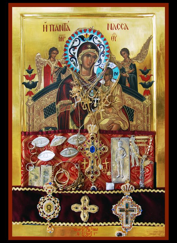 В Ужгороді та Мукачеві перебуватиме 21 точна копія чудотворних ікон Богородиці зі Святої Гори Афон